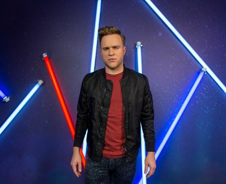 Olly Murs backstage Jingle Bell Ball 2013