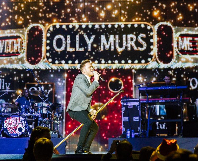 Olly Murs live Jingle Bell Ball 2013