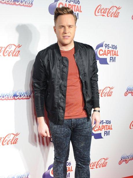 Olly Murs Red Carpet  Jingle Bell Ball 2013
