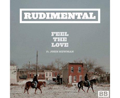 Rudimental's 'Feel The Love' single cover