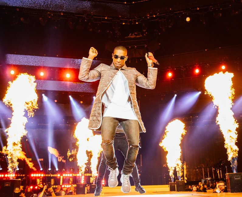 Tinie Tempah live Jingle Bell Ball 2013