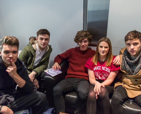 Union J and Kat Shoob  Jingle Bell Ball 2013