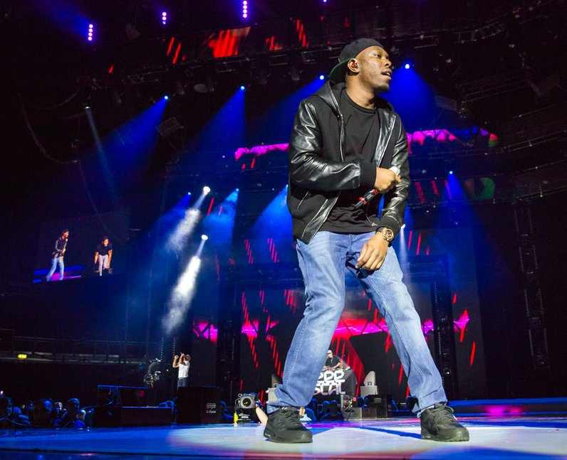 Dizzee Rascal live Jingle Bell Ball 2013