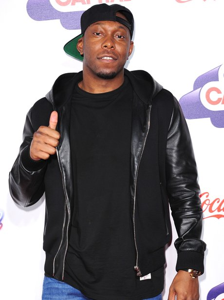 Dizzee Rascal Red Carpet at the Jingle Bell Ball 2