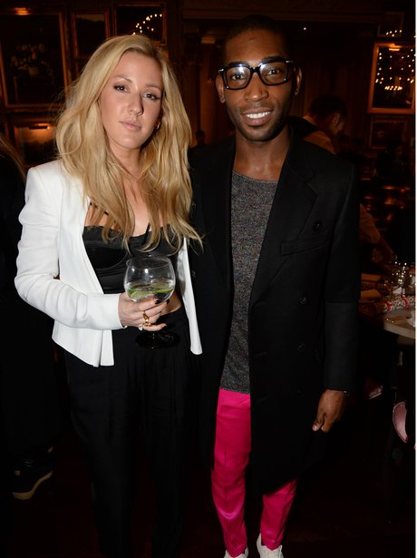 Ellie Goulding and Tinie Tempah GQ Christmas lunch