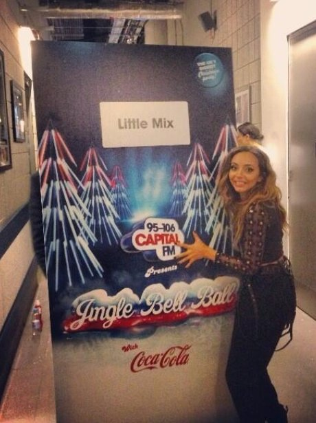 Jade Thirlwell Jingle Bell Ball 2013