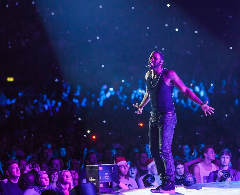 Jason Derulo live Jingle Bell Ball 2013
