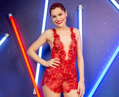 Jessie J Jingle Bell Ball 2013 backstage
