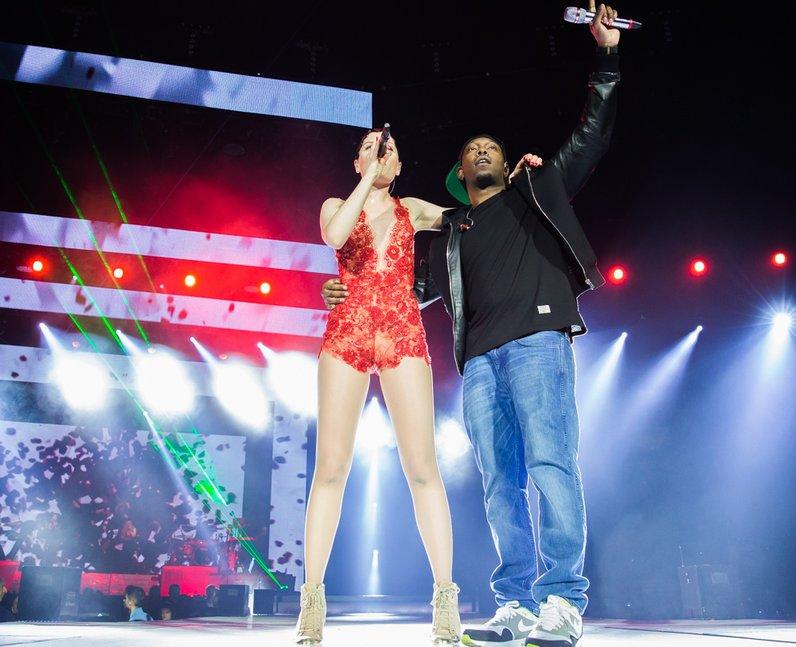 Jessie J with Dizzee Rascal live Jingle Bell Ball