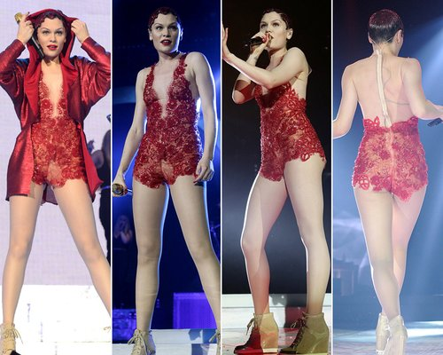 Jessie J At The Jingle Bell Ball 2013