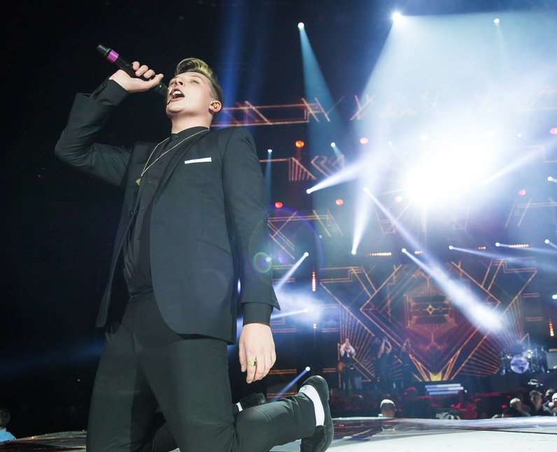 John Newman Jingle Bell Ball 2013 live