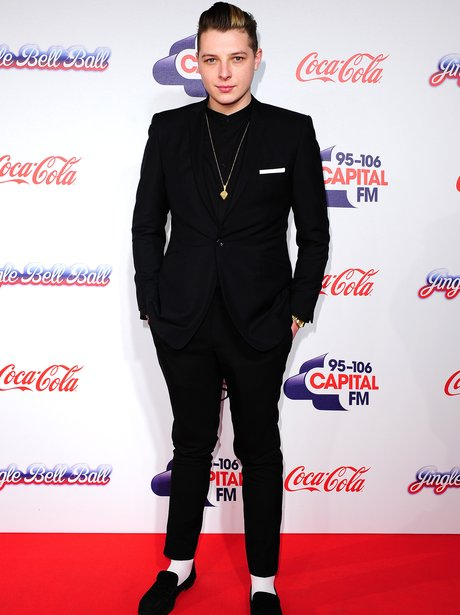John Newman Red Carpet Jingle Bell Ball 2013