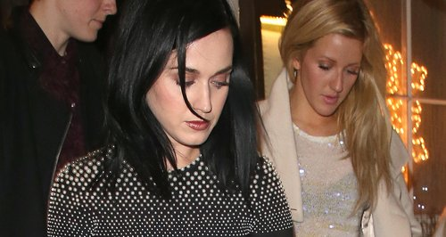 Katy Perry and Ellie Goulding In London