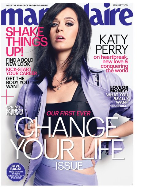 Katy Perry Marie Claire 2013