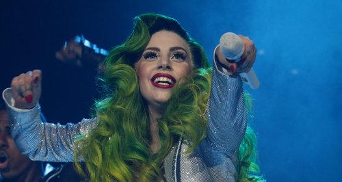 Lady Gaga Brings 'ARTPOP' To Life For Jingle Bell Ball
