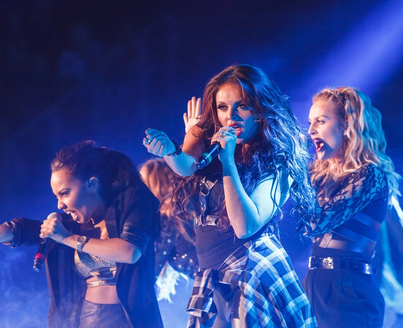 Little Mix live Jingle Bell Ball 2013