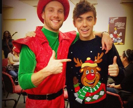 Nathan Sykes Christmas Jumper