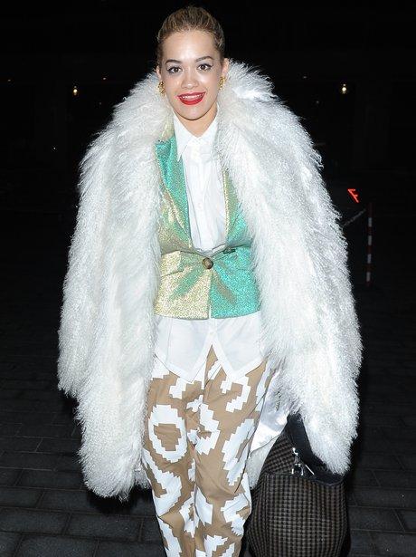 Rita Ora wearin