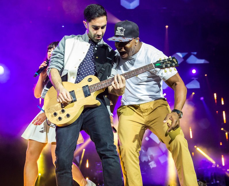 Rudimental live Jingle Bell Ball 2013