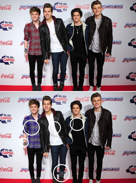 Spot The Difference: Jingle Bell Ball 2013