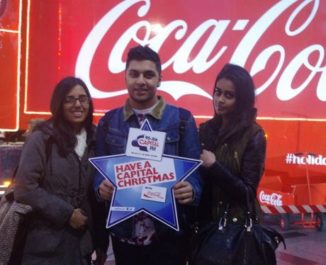 Coca-Cola Truck at Highcross Leicester