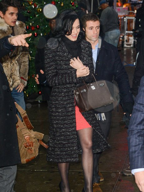 Katy Perry leaves the 'Good Morning America'