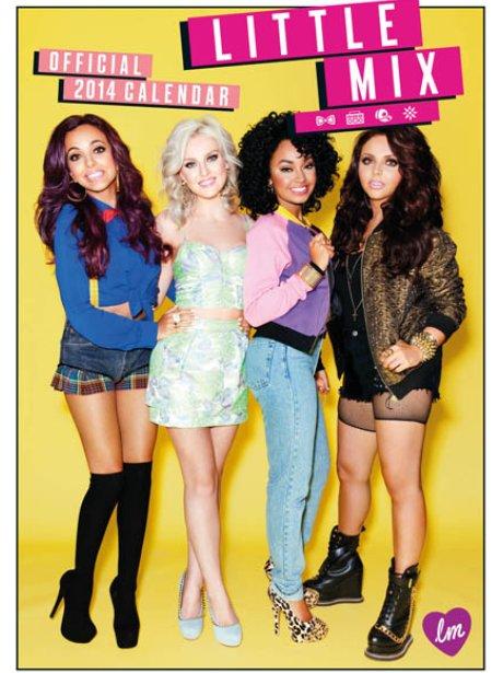 Little Mix's 2014 calendar cover
