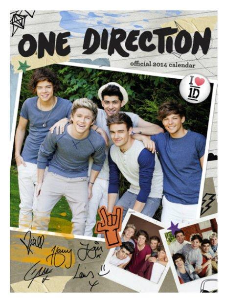 One Direction Calendar 2014