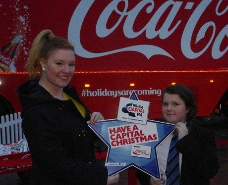 The Coca Cola Truck comes to Portsmouth