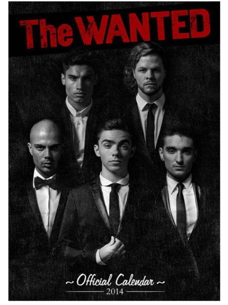 The Wanted's 2014 calendar cover