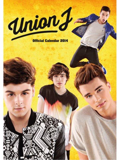 Union J's 2014 calendar cover