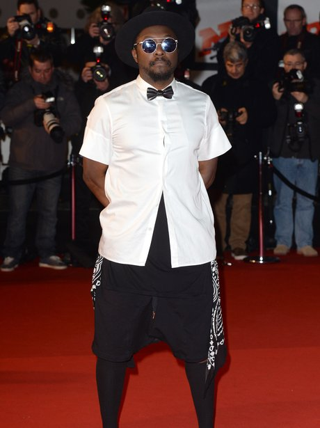 Will.i.am at the NRJ Music Awards 2013