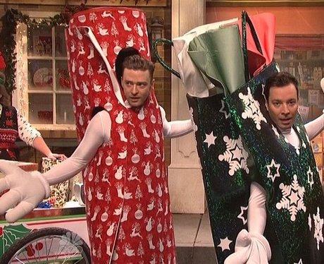 Justin Timberlake SNL Christmas Cracker