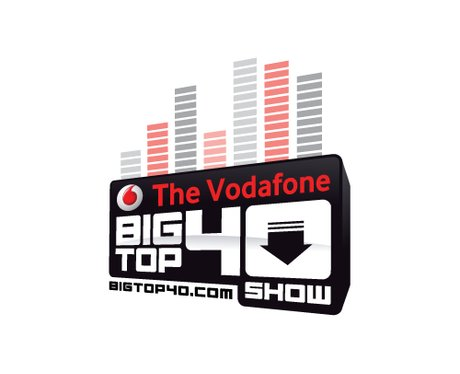 V is for our VODAFONE BIG TOP 40 - Officially the UK's No 1