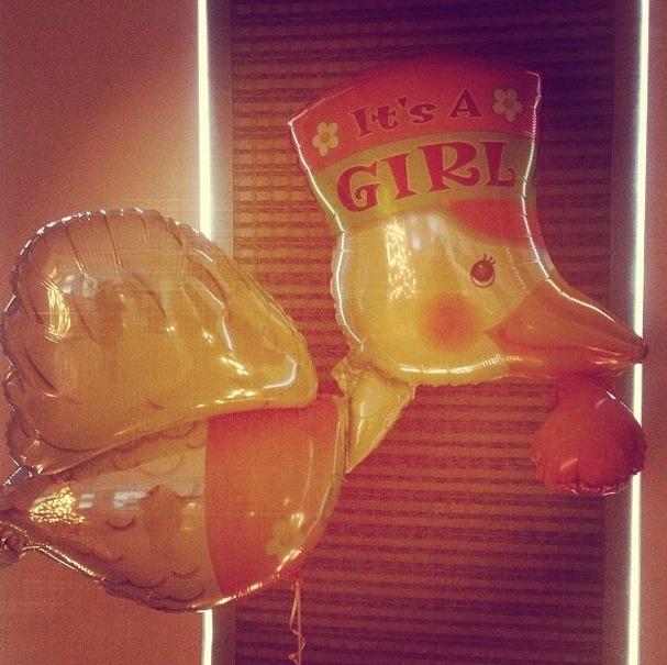 nadine coyle baby balloon