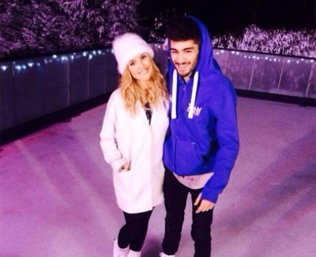 Zayn Malik And Perrie Edwards wish fans a Happy New Year
