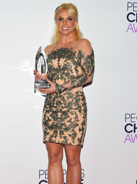 Britney Spears People's Choice Awards 2014