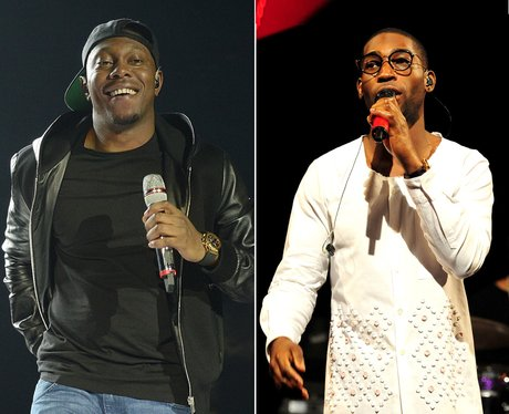Dizzee Rascal and Tinie Tempah