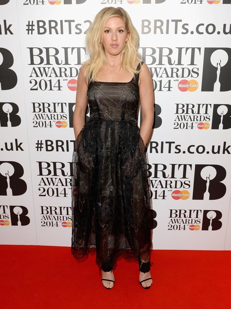 Ellie Goulding at the BRIT Award 2014 nominations party