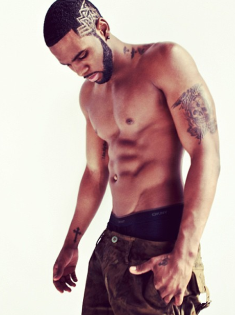 Jason Derulo topless