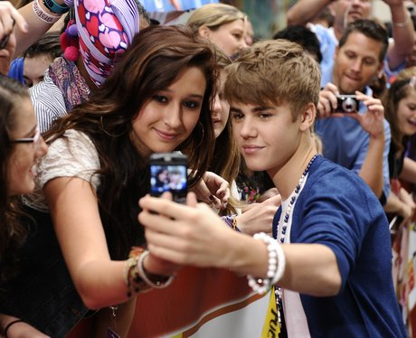 Justin Bieber and Fans