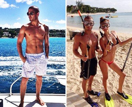 Max George and Nina Holiday