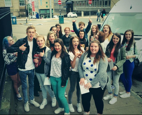 The Vamps With Fans