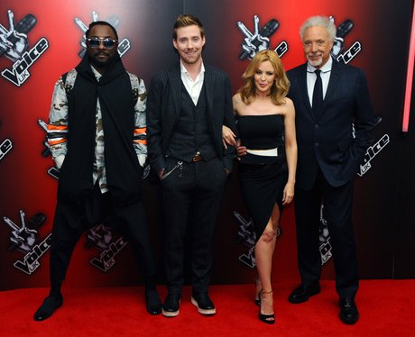 The Voice coaches at the show's 2014 press launch