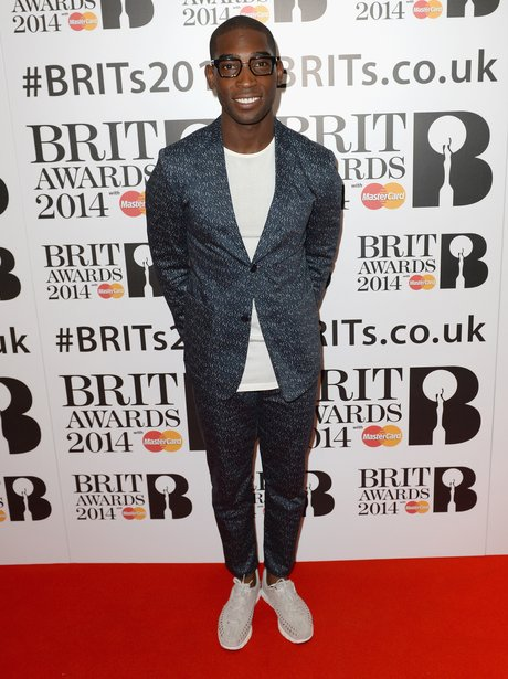 Tinie Tempah at the BRIT Award 2014 nominations party