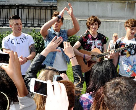 Union J and Fans