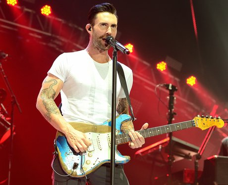 Adam Levine on Maroon 5 Tour