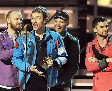 Coldplay Grammys