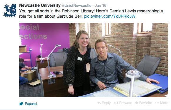 Damian Lewis At Newcastle University
