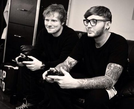 Ed Sheeran and James Arthur